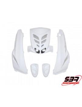 Kit carrosserie BCD Blanc MBK Stunt / Yamaha Slider
